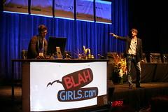 Blah Girls and Ashton Kutcher