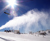 Perisher Blue snow guns blasting