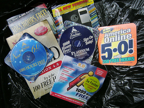 A Blast from the Past When I Trashed All the Old AOL Disks