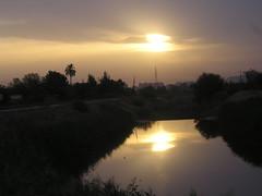 Amanecer desde el río