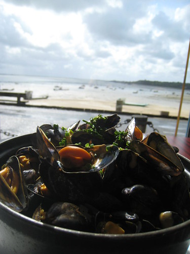 Mussels in Cancale