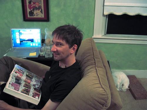 Watching Brian watch the Watchmen