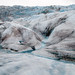 Mendenhall Glacier - ice and morraine