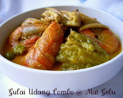 Gulai Udang Combo
