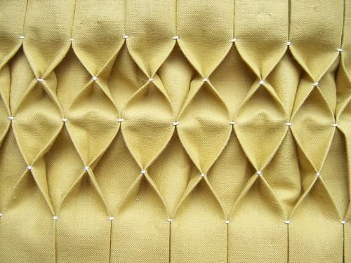 как сделать буфы на ткани подробный.