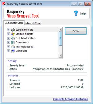 Kaspersky Virus Removal