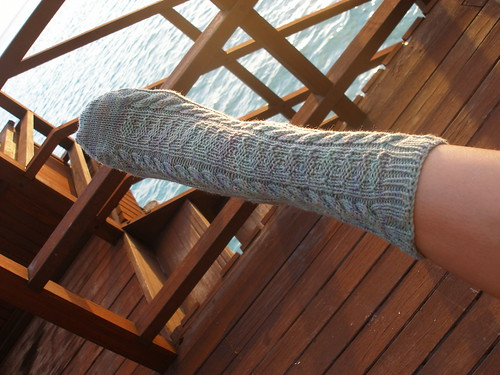 Day 4: Whitby Sock finished!