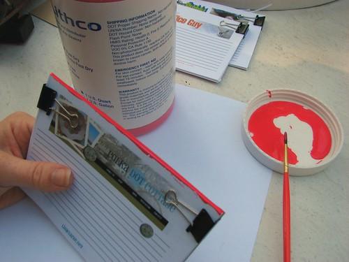 Binding a notepad