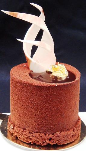 Chocolate & maracuja crunch