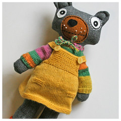 More Teddy Togs (Hasenpfeffer Incorporated) Tags: bear wool girl kids children toy toys eyes dolls dress teddy recycled handmade felt skirt plush fabric etsy knitted recycling googly pullover togs softy hasenpfeffer hasenpfefferincorporated
