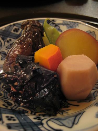 加賀伝統野菜焚合せ