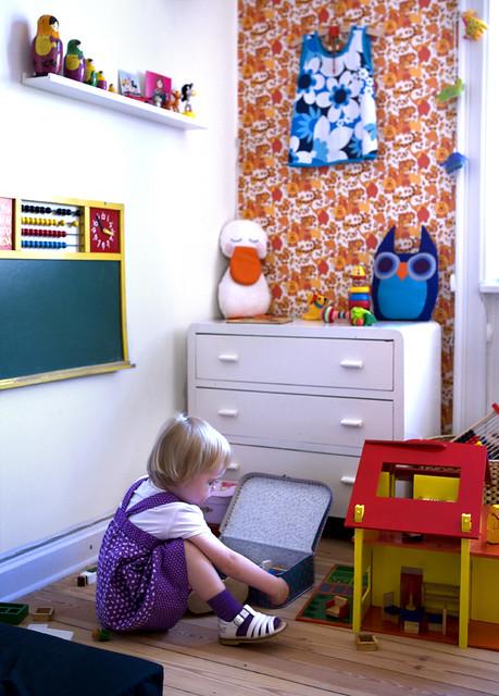 wallpaper kids children toys furniture nursery chalkboard