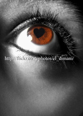(El_Dimani) Tags: blackandwhite eye love dark hope eyes waiting eyelashes heart sweet dreaming honey onceuponatime dreams wait awaiting await maitha eldimani