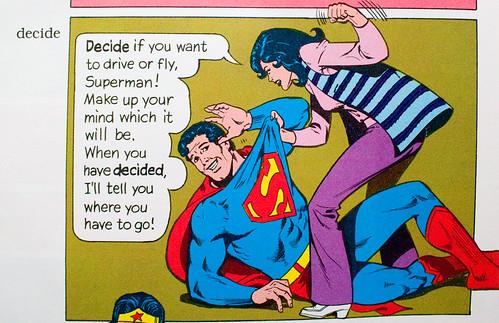 The Super Dictionary: decide