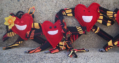 Heartman plushies (3)