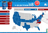 "Kelso's Corner » Blog Archive » 7-Eleven's Obama - McCain ""Vote with Your Cup"" Map"