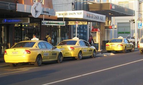 Bentleigh taxi rank 17/9/2008