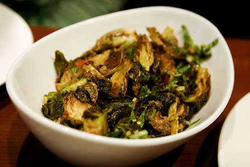 satur farm's fried brussels sprouts