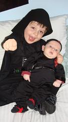 Elliott Vader & Ninja Oliver