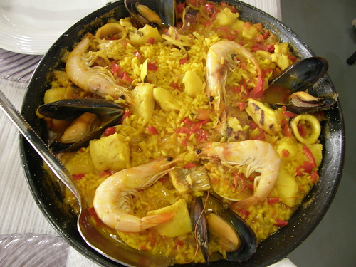 Paella á Chef Vicente por rgrant_97.