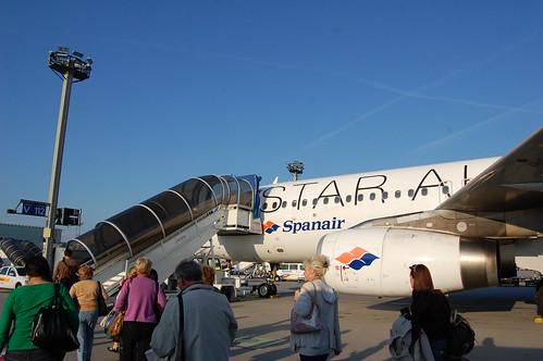 Paso 9 - Embarcando hacia Madrid