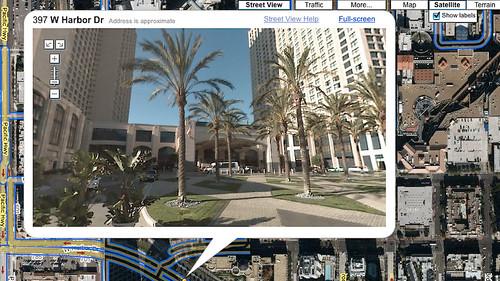 San Diego Trip: Manchester Grand Hyatt - Front (Google)