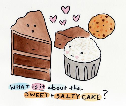 Sweet n Salty Cake