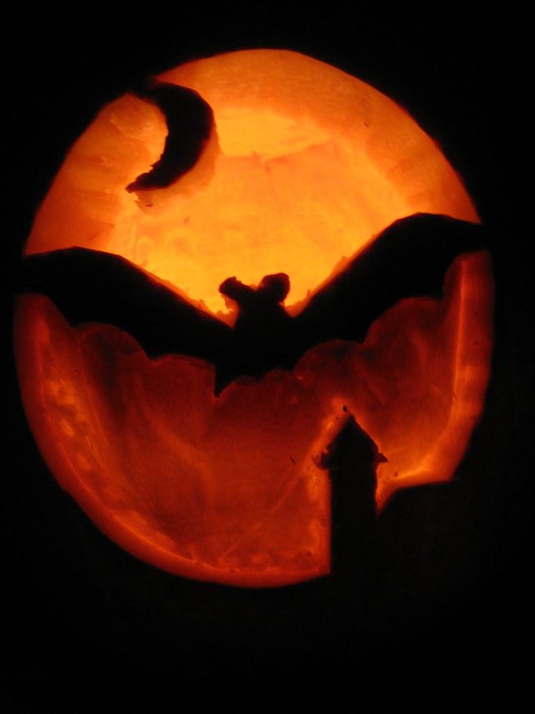 Halloween Kürbisschnitzen Vorlagen Jack O\' Lantern Kürbis Schnitzen ...