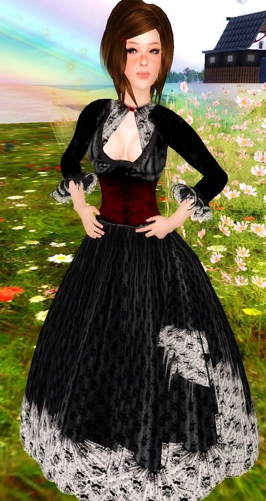 pic pretty gotic dress