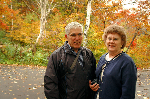 Mom & Dad @ Shiga Kogen
