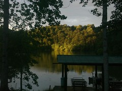 Sunset on the lake 4 (Realtorldy) Tags: sunset oldwomanscreek leesvillelake gretnavirginia flattopcove