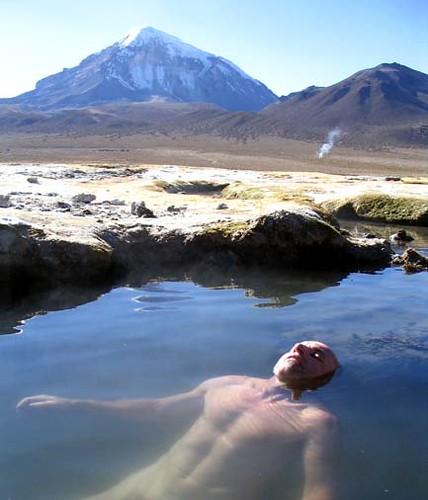 Tinas De Baño La Paz Bolivia:urmiri es uno de los baños termales más conocidos de