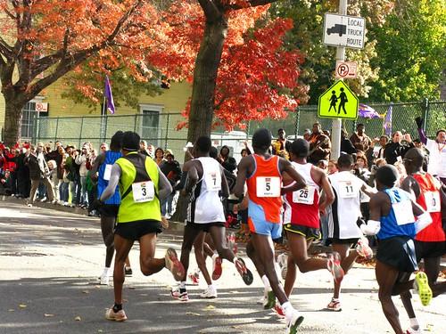 NYC Marathon 2008 Bedstuy Clinton Style