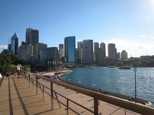 Circular Quay in Sydney Harbor