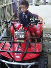 三富花園農場:Ryan騎小肯 2