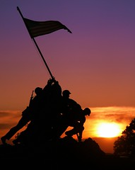 Cost of Freedom (CATeyes) Tags: usa usmc america sunrise freedom marine remember flag corps marines iwojima veterans sacrifice veteransday marinecorpsmemorial