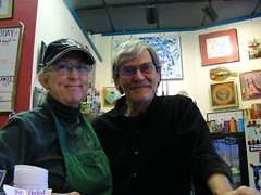 Deb Seaton & George Gee of Side Street Espresso