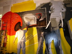 101 crew painting live! (bankruptculture) Tags: street art painting graffiti brighton live artists walls visual artspace imprints kai1 eon fors 101crew thekrah drren