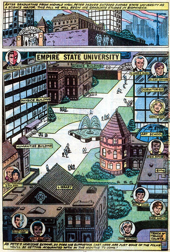 """Empire State University,"" from Amazing Spider-Man Annual #13"