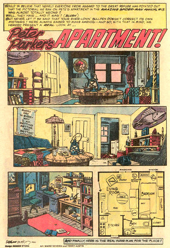 """Peter Parker's Apartment"", from Amazing Spider-Man Annual #15"