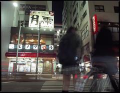 8 seconds in the life (F_blue) Tags: tokyo 645 kichijoji fujicolor  etrs zenzabronica pro160nc zenzanonpe5028 fblue2008
