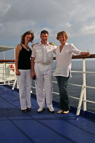 Интервью с капитаном круизного судна