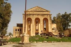 Old marj city       (' Ashraf Diab ') Tags: old italy church earthquake italian ruins barca marj libya