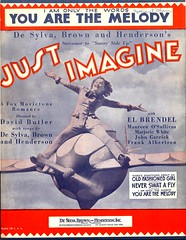 "Sheet Music from ""JUST IMAGINE"" (1930) (Devlin Thompson) Tags: movie musical sciencefiction sheetmusic 1930 maureenosullivan"