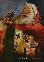 For Santa - COCA COLA 1950