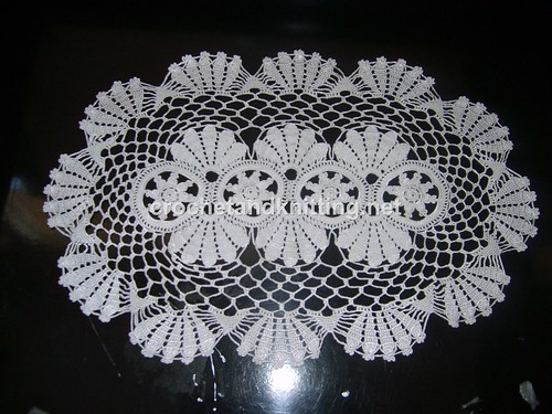 Free Easy Crochet Doily Pattern | The Crafty Tipster