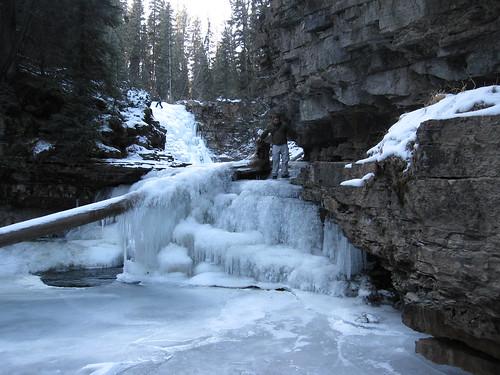 montana - ice fall