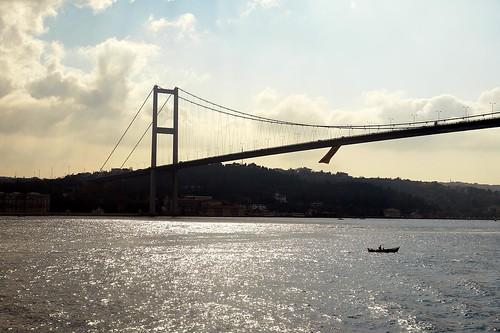 Alone on the Bosphorus