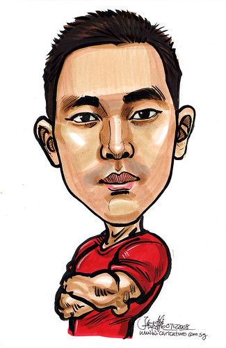Caricature for Singapore Armed Forces 2