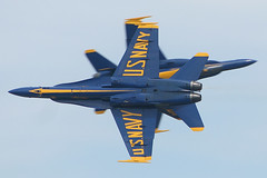 The United States Navy Blue Angels at Andrews Air Force Base (mikelynaugh) Tags: blue team cross united navy demonstration angels hornet states f18 blueangels